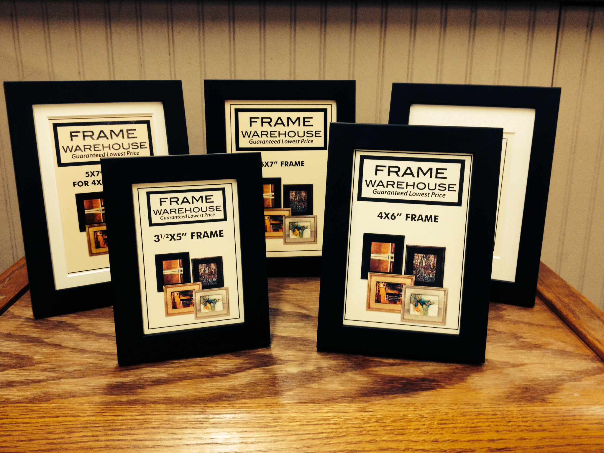 Lovely Tabletop Frames