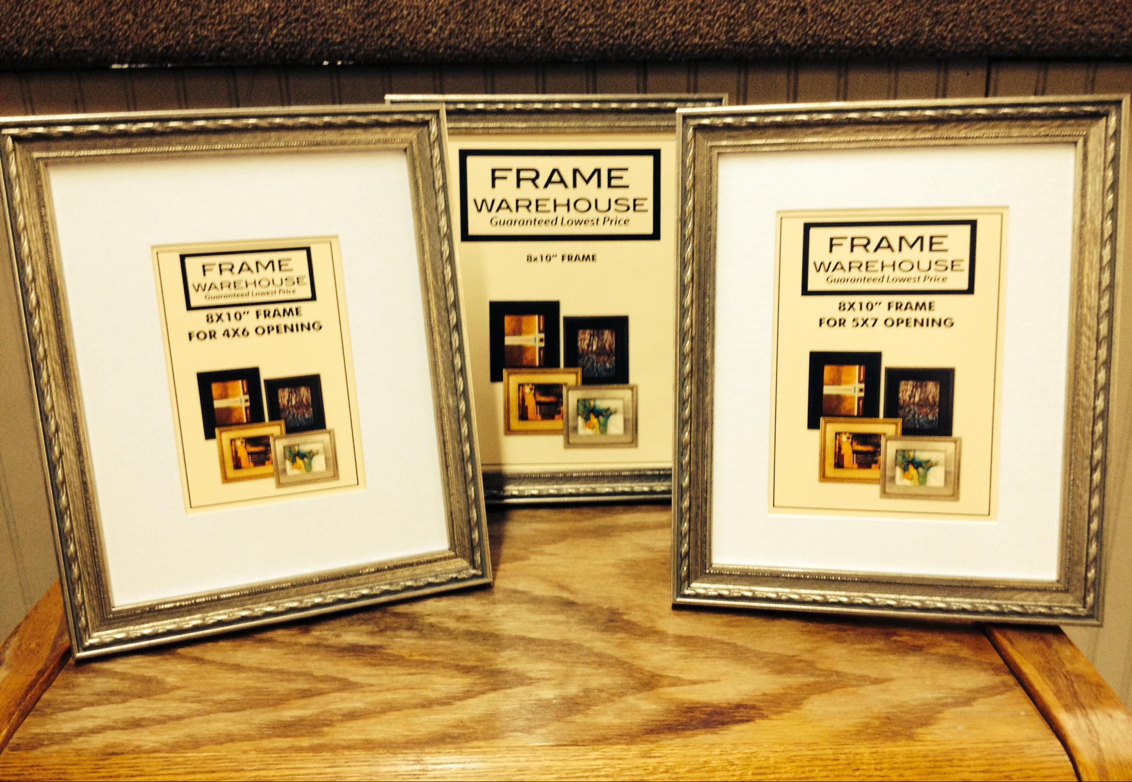 Elegant silver table top frame warehouse tabletop frames jeuxipadfo Choice Image